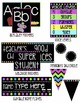 Classroom Decor- Black with Bright Colors