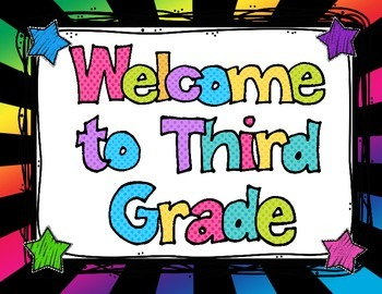 Back to School K- 8 Bright Colors Welcome Banners, Name & Subject Tags &more