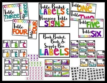 Classroom Decor {Bright & Simple}