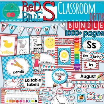 Dr Seuss Classroom Decor Bundle