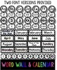 Classroom Decor Bundle - Black & White Polka Dot