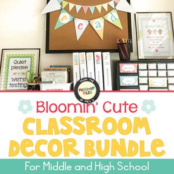 Bloomin' Cute Classroom Decor Bundle