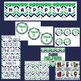 Classroom Décor Bundle {Blue, Green, & Gray Chevron}