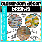 Classroom Decor Bundle: Bright Pack {with many editable features}