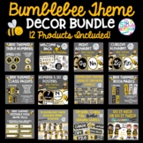 Classroom Decor Bundle BumbleBee Bee Theme- 12 Products Included