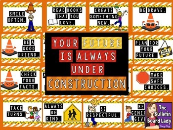 Classroom Decor Bundle CONSTRUCTION Theme