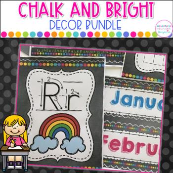 Chalk and Bright Decor Bundle