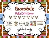 Classroom Decor Bundle {Chocolate Polka Dots}