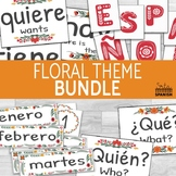 Classroom Decor Bundle Floral Theme