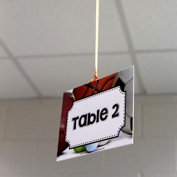 Sports Theme Classroom Decor Bundle
