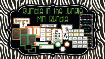 Classroom Decor Bundle: Rumble in the Jungle