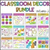 Classroom Decor Bundle - Volume 2