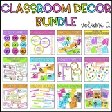 Classroom Decor Bundle - Volume 2