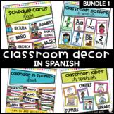 Classroom Decor Super Bundle in Spanish