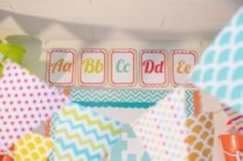 Classroom Decor By the SEA - Ocean Alphabet Letters