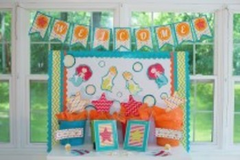 Classroom Decor By the SEA - Ocean Welcome Banner