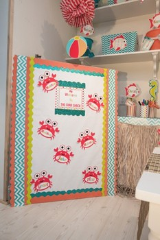 Classroom Decor By the SEA - Welcome Signs