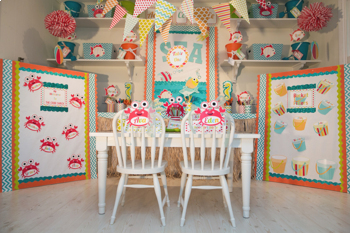 Classroom Decor By the SEA - Ocean Welcome Signs