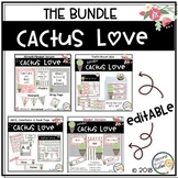 Classroom Decor Cactus Love BUNDLED