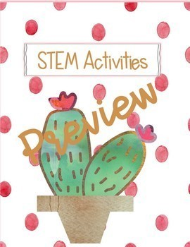Classroom Decor Cactus in Dots- Editable Binder & Desk Labels