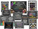 Classroom Decor - Chalkboard Themed Bundle!
