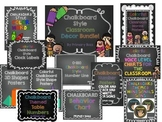 Classroom Decor - Chalkboard Themed Bundle!