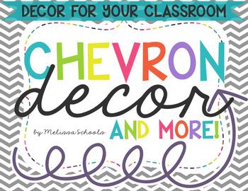 Classroom Decor {Chevron & Arrows}