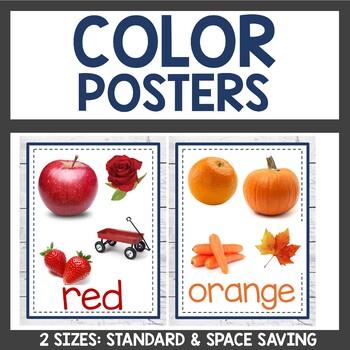Classroom Decor Color Posters