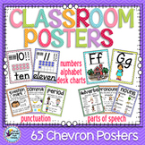 Classroom Decor, Classroom Posters, Alphabet, Numbers and More