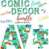 Classroom Decor Comic Book Theme