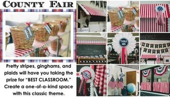 Classroom Decor County Fair - Full Collection Bundle