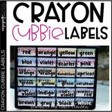Crayon Labels - Crayon Toolbox Labels - Crayon Cubbie Labels