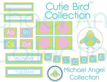 Classroom Decor Cutie Bird Collection