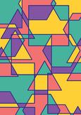 Classroom Decor/Display - Geometric Pattern Background