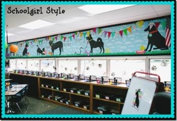 Classroom Decor Dog Dayz - Full Collection