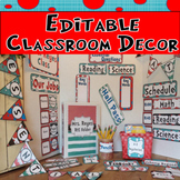 Dr. Seuss Editable Classroom Decor / Read Across America / Dr Seuss