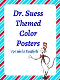 Classroom Decor- Dr. Suess Themed Color Posters
