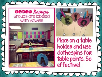 Classroom Decor: EDITABLE Brights Design {pink, turquoise, lime, and more}