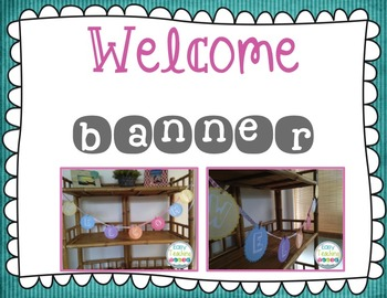 Classroom Decor: EDITABLE Whimsical Design {pink, turquoise, & gray}