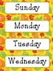 Classroom Decor Editable - Autumn Theme