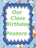 Classroom Decor- Editable Dr. Suess Birthday Poster