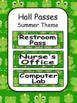 Classroom Decor Editable - Frog Theme