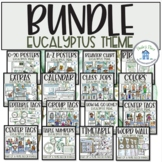 Classroom Decor Bundle Eucalyptus Theme