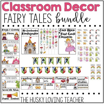 Fairy Tales Classroom Decor
