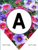 Classroom Decor Flowers Editable Bunting and Banner