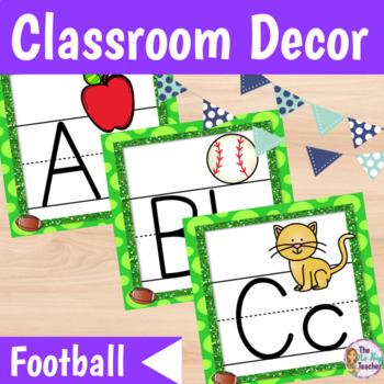 Classroom Decor Football Theme