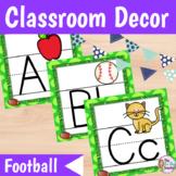 Sports Themed Classroom Football