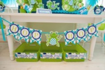 Classroom Decor Frogs - Full Collection Bundle