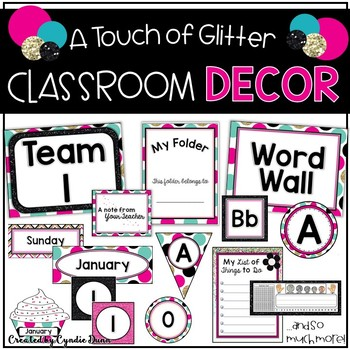 Room Themes: Glitter