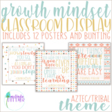 Classroom Decor - Growth Mindset Posters /Bulletin Board {